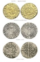 COIN SET OF 3 - EDWARD I & III (REPLICAS)